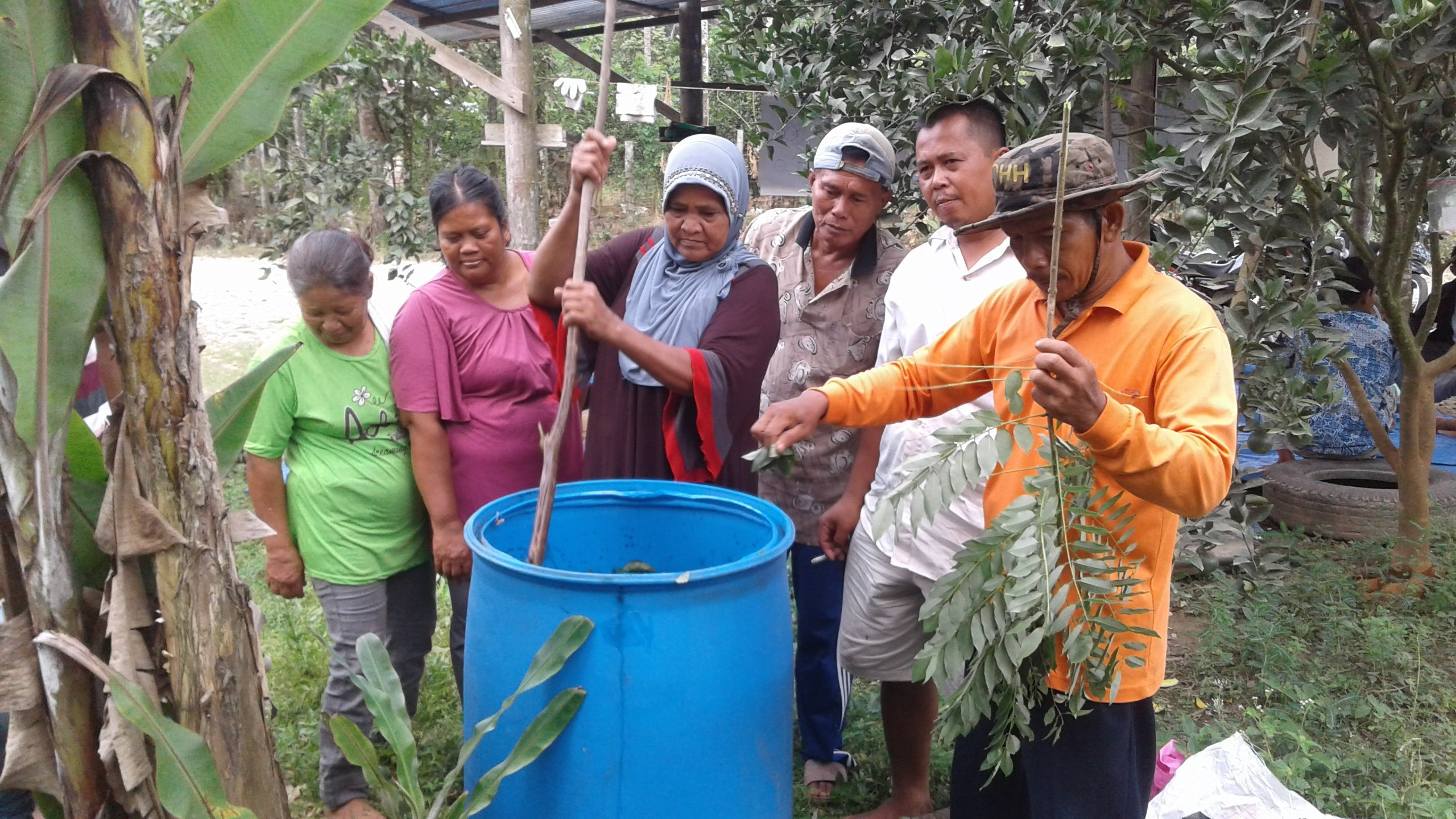 Community development program through sustainable agricultural practice